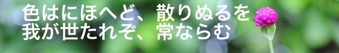 Sample title in Japanese, using the Abril Fatface character font.